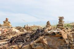 Pilha da rocha Foto de Stock