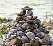 Pilha da rocha Imagens de Stock
