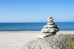 Pilha da rocha Fotografia de Stock Royalty Free