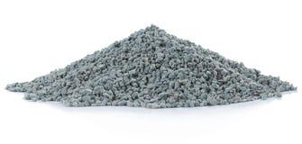 Pilha da rocha verde imagem de stock