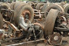 Pilha da suspensão do caminhão Imagem de Stock