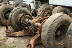 Pilha da suspensão do caminhão Foto de Stock Royalty Free