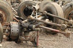 Pilha da suspensão do caminhão Fotografia de Stock