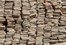Pilha da telha de telhado Imagem de Stock Royalty Free