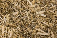 Pilha da textura de madeira dos restos Imagem de Stock