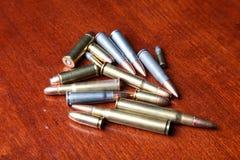 Pilha das balas imagens de stock royalty free