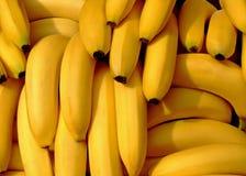 Pilha das bananas imagens de stock
