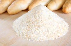 Pilha das côdeas de pão ralado Imagens de Stock Royalty Free