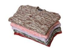 Pilha das camisolas maravilhosas #2. Fotos de Stock Royalty Free