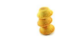 Pilha das cookies Imagens de Stock Royalty Free
