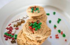 Pilha das cookies imagem de stock