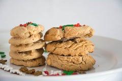 Pilha das cookies fotografia de stock