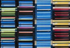 pilha das disquetes Foto de Stock