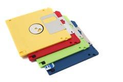 pilha das disquetes Fotos de Stock