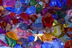 Pilha das gemas Fotografia de Stock