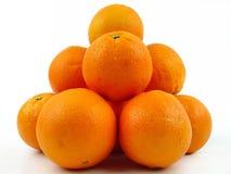 Pilha das laranjas Fotografia de Stock