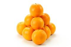 Pilha das laranjas Imagem de Stock Royalty Free