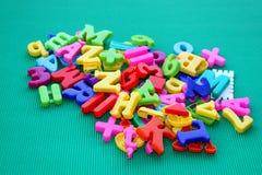 Pilha das letras Imagens de Stock