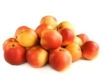 Pilha das maçãs Fotos de Stock