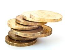Pilha das moedas Imagem de Stock Royalty Free