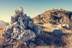 Pilha das pedras Imagem de Stock