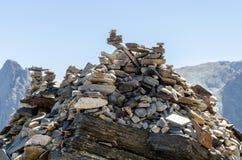 Pilha das pedras Foto de Stock