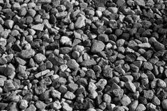Pilha das pedras em preto e branco Imagem de Stock Royalty Free
