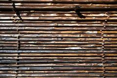 Pilha das placas de madeira fotos de stock