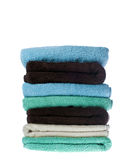 Pilha das toalhas Foto de Stock Royalty Free