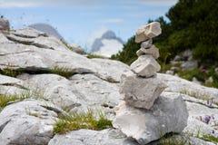 Pilha de Áustria de pedras Fotos de Stock