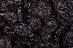 Pilha de ameixas secas secadas Fotografia de Stock Royalty Free