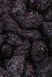 Pilha de ameixas secas secadas Fotografia de Stock