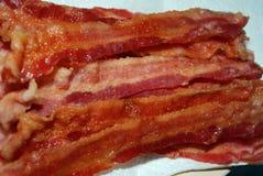 Pilha de bacon Imagens de Stock