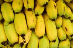 Pilha de bananas frescas imagens de stock