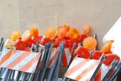 Pilha de barricadas imagens de stock