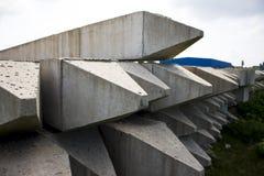 Pilha de Beton Fotos de Stock Royalty Free