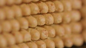 Pilha de biscoito Fotografia de Stock
