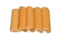 Pilha de biscoitos do shortbread Fotos de Stock Royalty Free