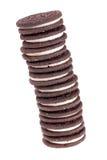 Pilha de bolinhos Imagem de Stock