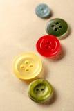 Pilha de botões coloridos Imagem de Stock Royalty Free