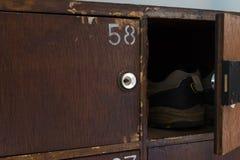 Pilha de caixa da caridade do ` s da mesquita Fotografia de Stock