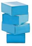 Pilha de caixas das drogas Fotografia de Stock Royalty Free