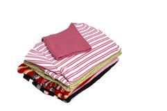 Pilha de camisolas. Foto de Stock Royalty Free