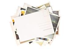 Pilha de cartões coloridos Fotos de Stock