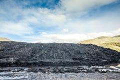 Pilha de carvão Fotos de Stock Royalty Free