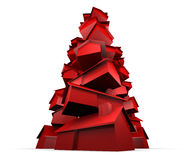 Pilha de casas vermelhas Imagens de Stock Royalty Free