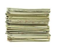 Pilha de compartimentos imagem de stock royalty free
