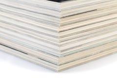 Pilha de compartimentos Fotos de Stock