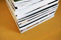Pilha de compartimentos impressos fotos de stock royalty free