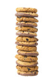 Pilha de cookies Fotos de Stock Royalty Free